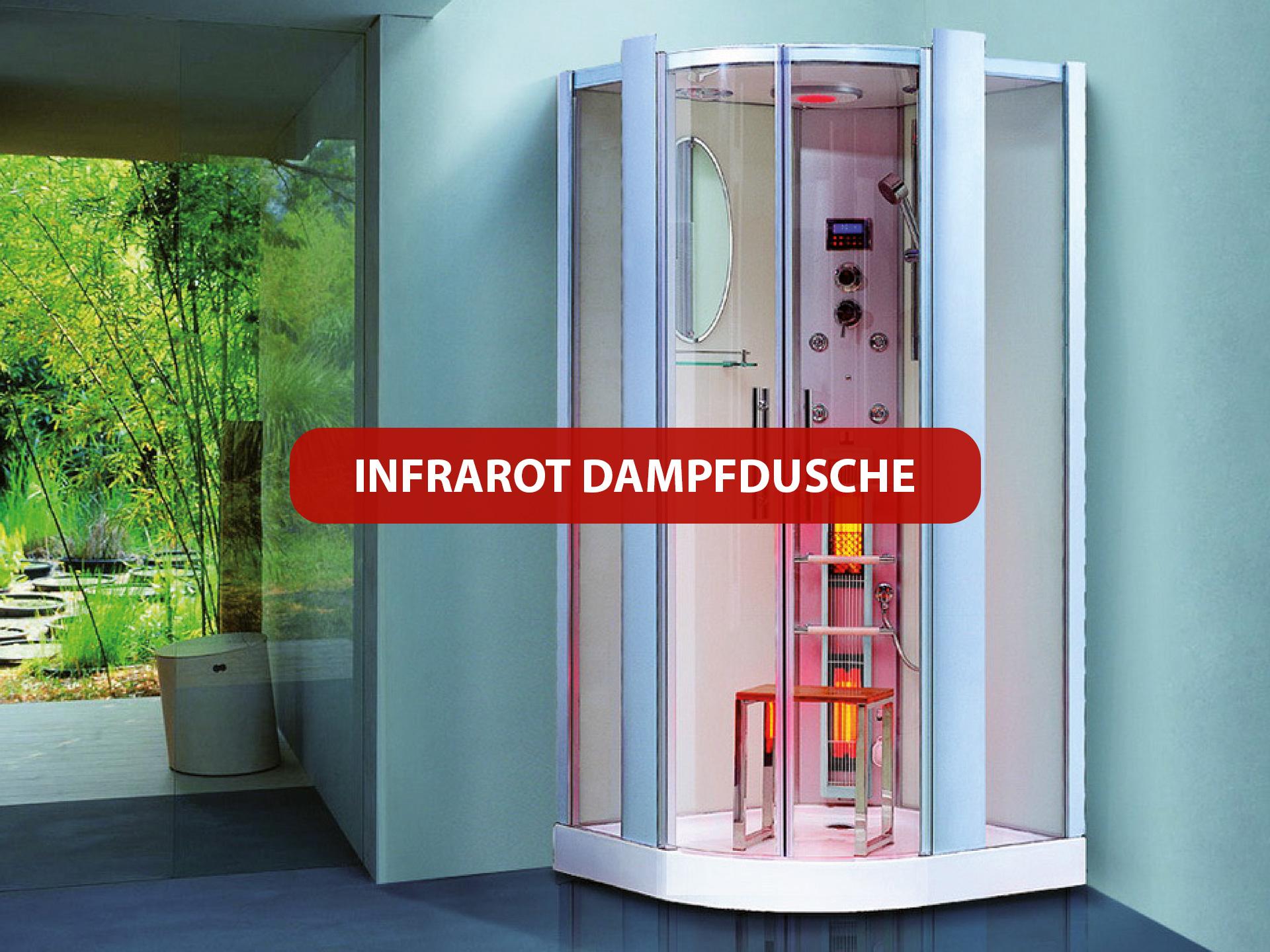 Produkte Infrarot Dampfdusche