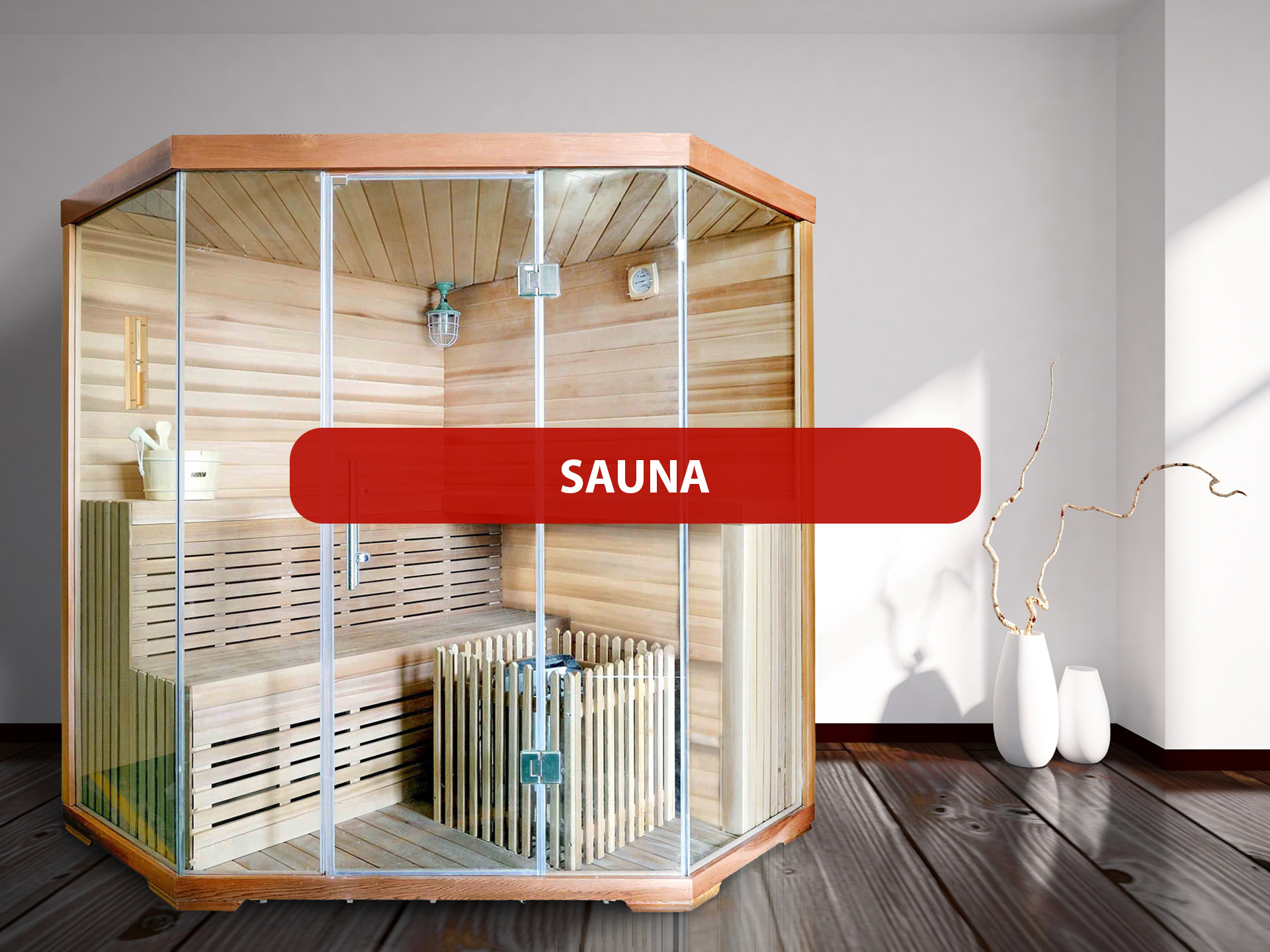 Produkte Sauna
